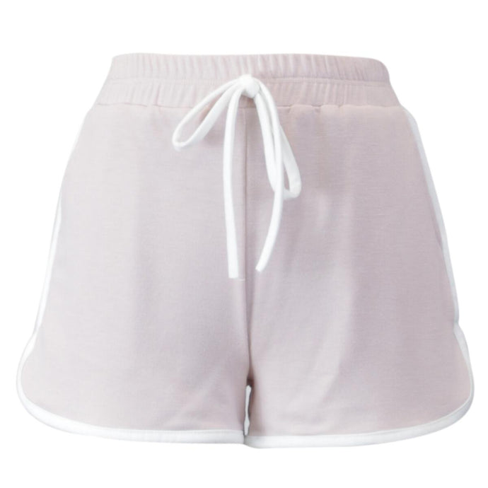 Blush French Terry Dolphin Short