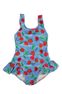Cherry Print Swimsuit