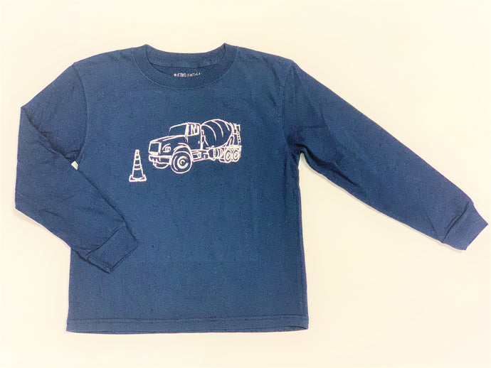 Cement Truck Long Sleeve Tee