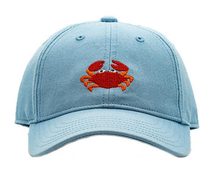 Crab On Faded Chambray Hat