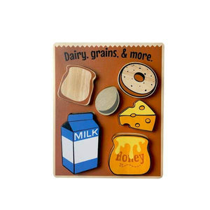 Dairy and Grains Chunky Puzzle
