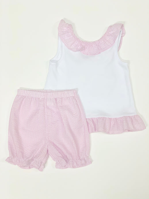 Infant Two Piece Set With Bow