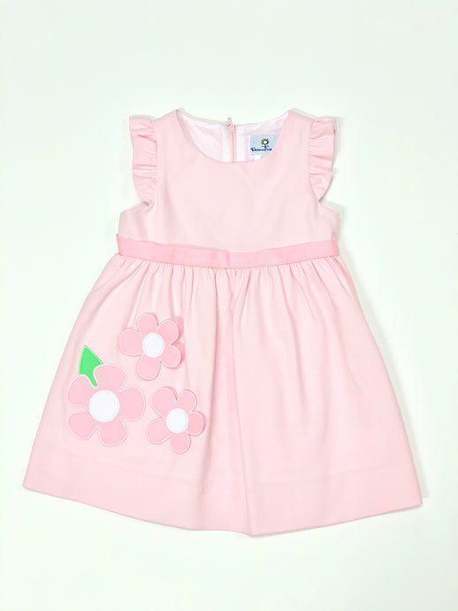 Toddler Birdeye Pique Dress
