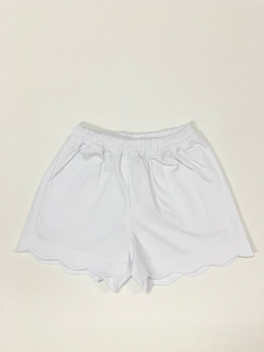 Toddler Girl Susie Scallop Shorts