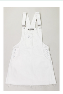 White Coverall Dress