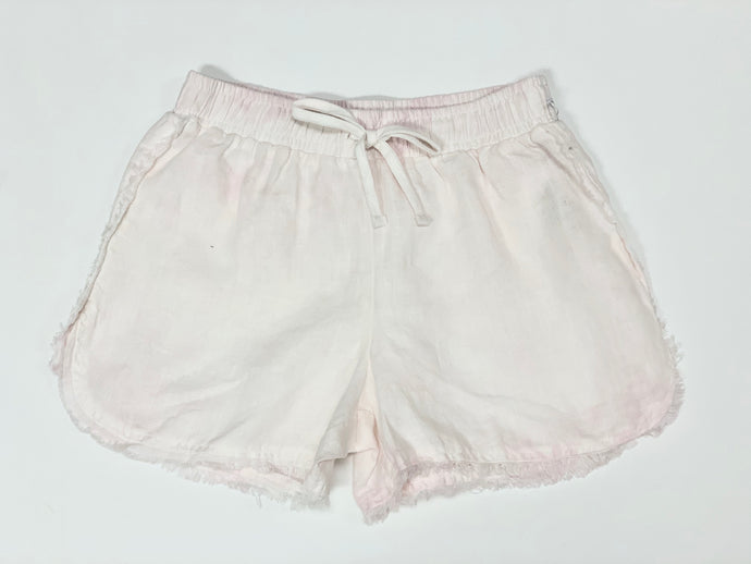 Girls Frayed Seam Beach Short