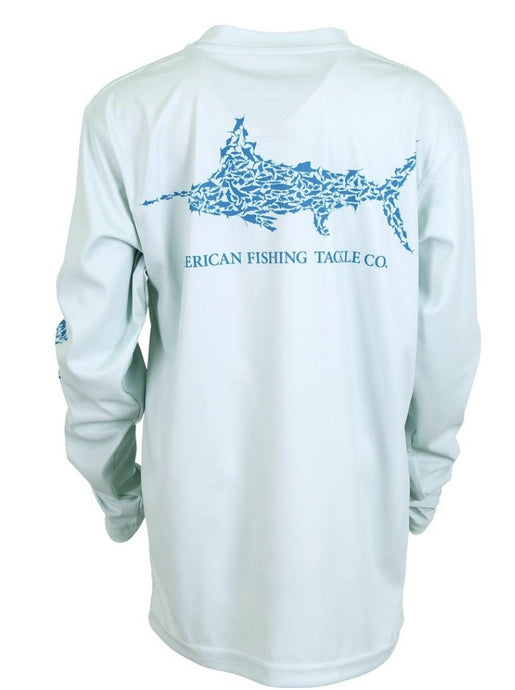 Youth Jigfish Long Sleeve Fishing Tee