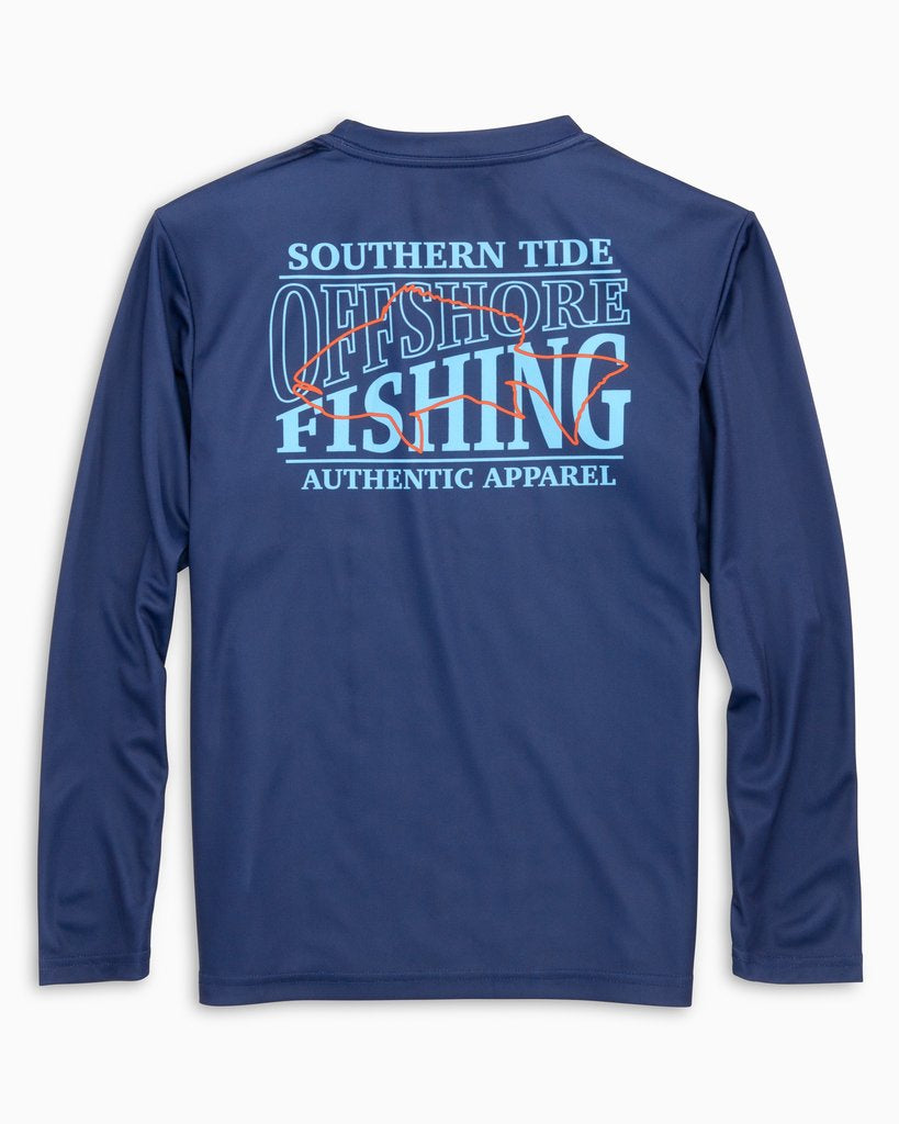Offshore Fishing Performance Long Sleeve Tee
