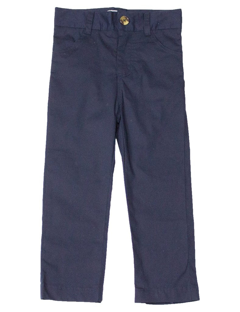 Tween Boys Navy Charleston Pants