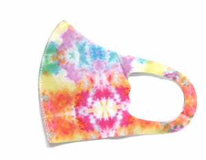 Youth Neon Splat Spandex Face Mask
