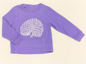 Peacock Long Sleeve Tee