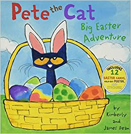 Pete the Cat Big Easter