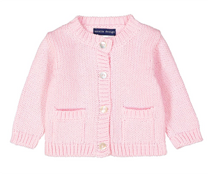 Light Pink Cardigan 0/6M