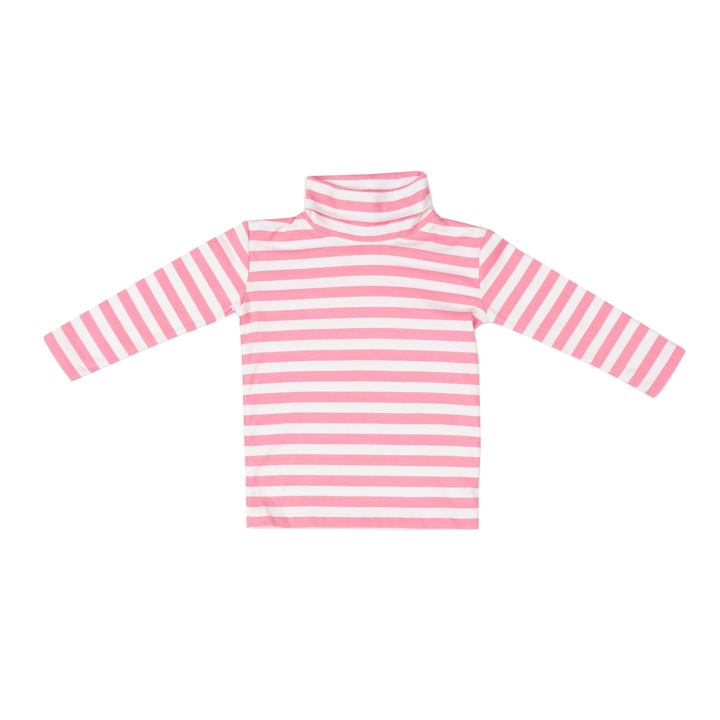 Pink Stripe Tisbury Turtleneck