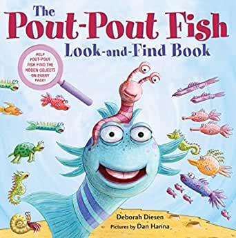 The Pout-pout Fish Look and Find Book