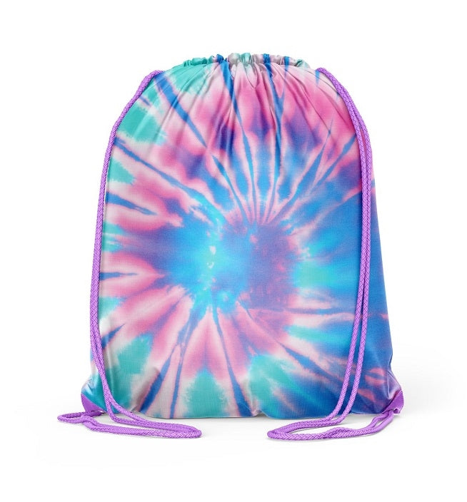 Purple Tie Dye Sling Bag