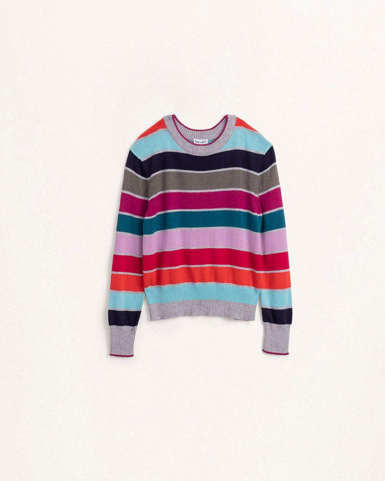 Tween Girl Multi Stripe Sweater