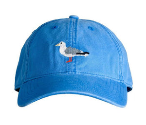 Kids Blue Seagull Baseball Hat