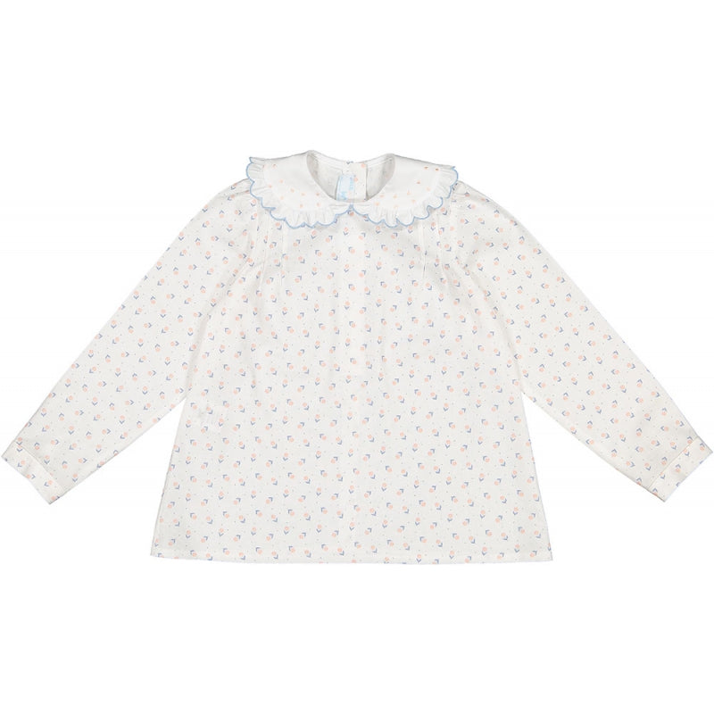 Girls St Germain Floral Shirt