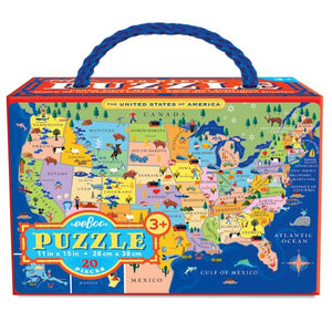 US MAP 20 PC Puzzle