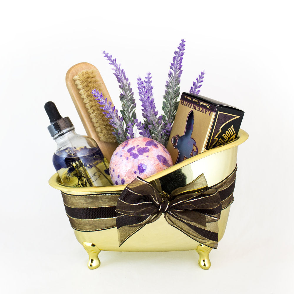 Golden Tub Gift Set