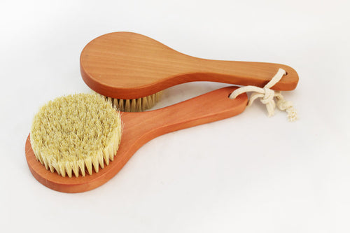 Cactus Fiber Bristled Body Brush