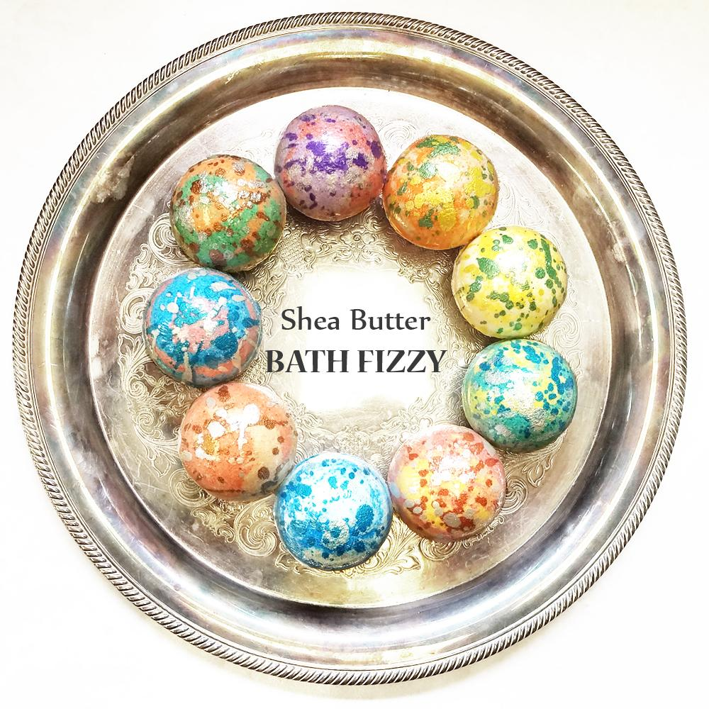Bath Fizzy Enriched with Shea Butter