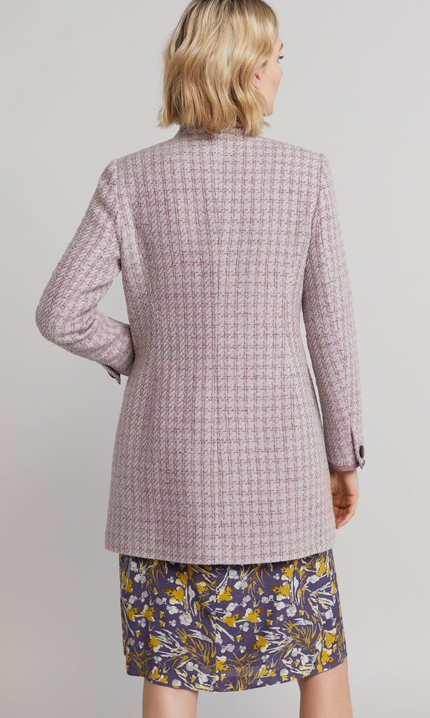 Elsa Coat - Dusty Pink
