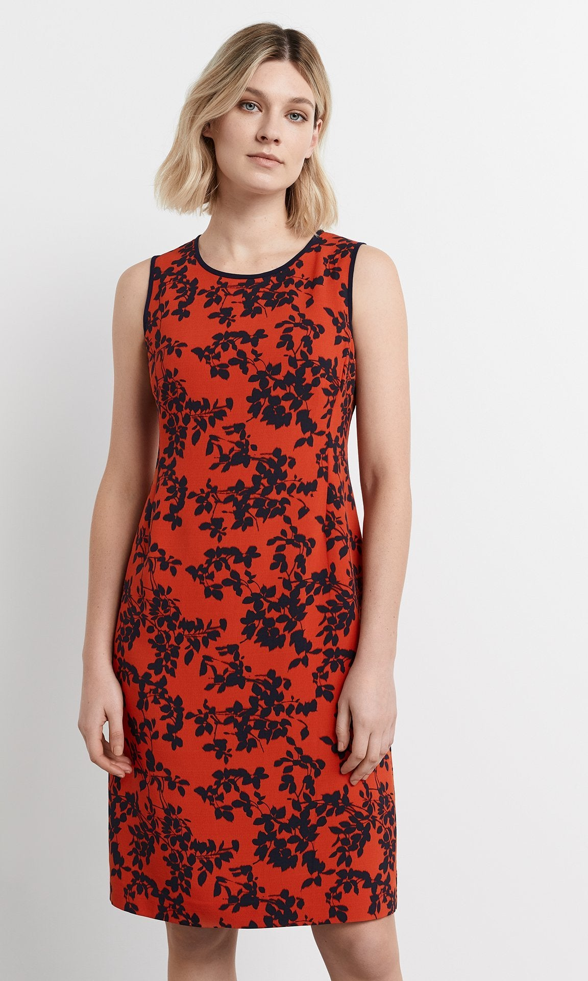 Elba Dress - Lobster