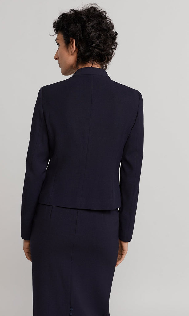 Eddison Zip Jacket - Navy