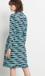 Eliza Dress Turquoise