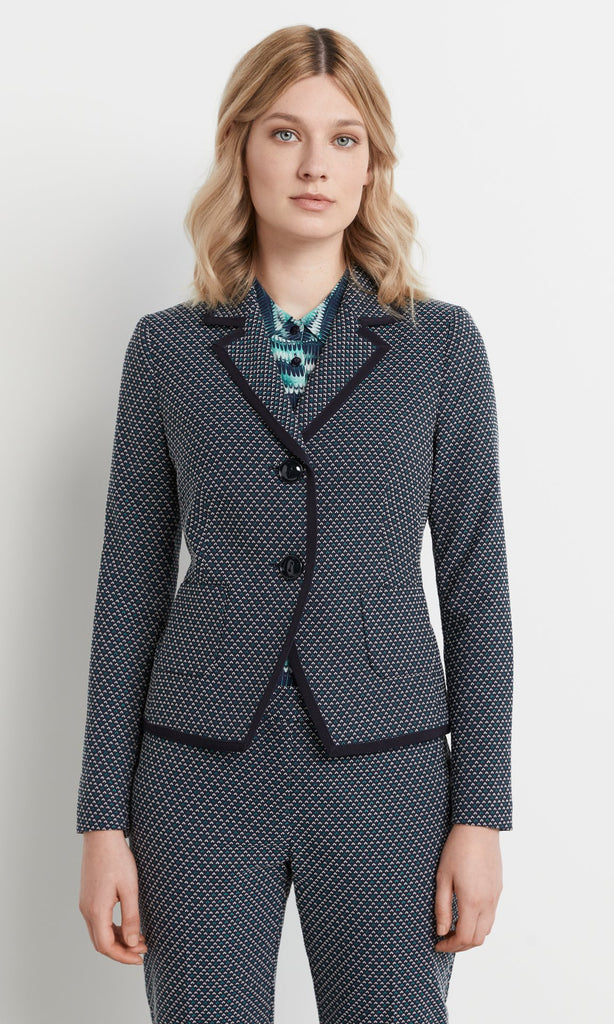 Sinclair Jacket Navy/Teal