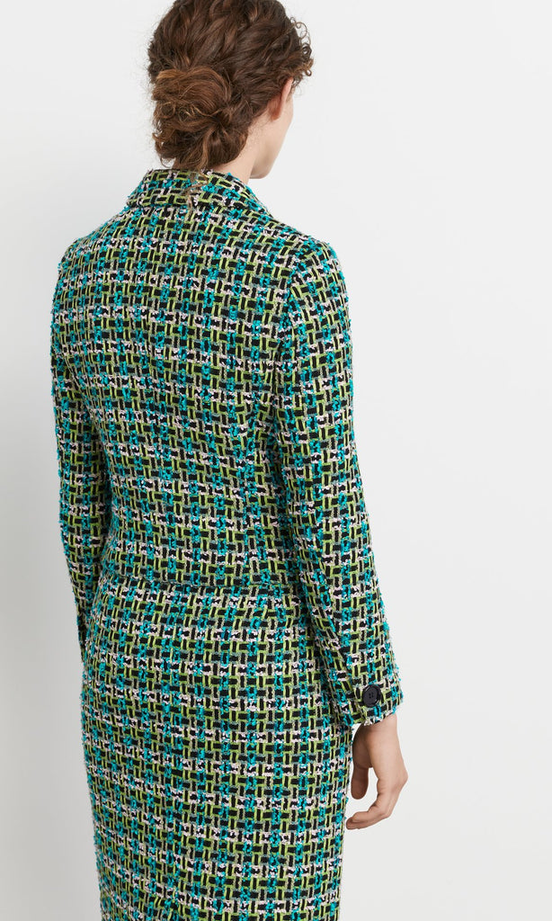Exeter Jacket Turquoise/Lime