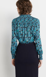 Avery Blouse - Denim