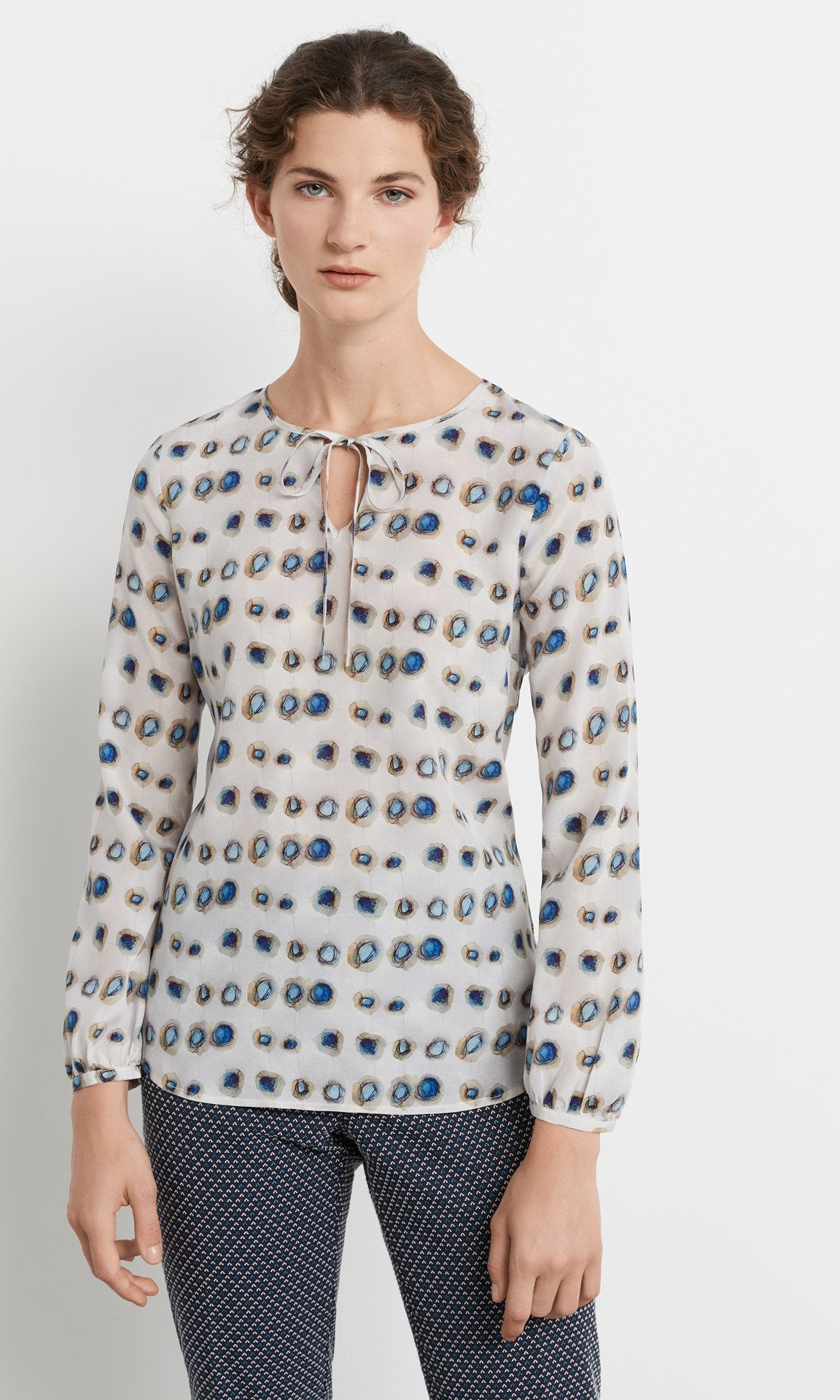 Darcey Blouse - Blue