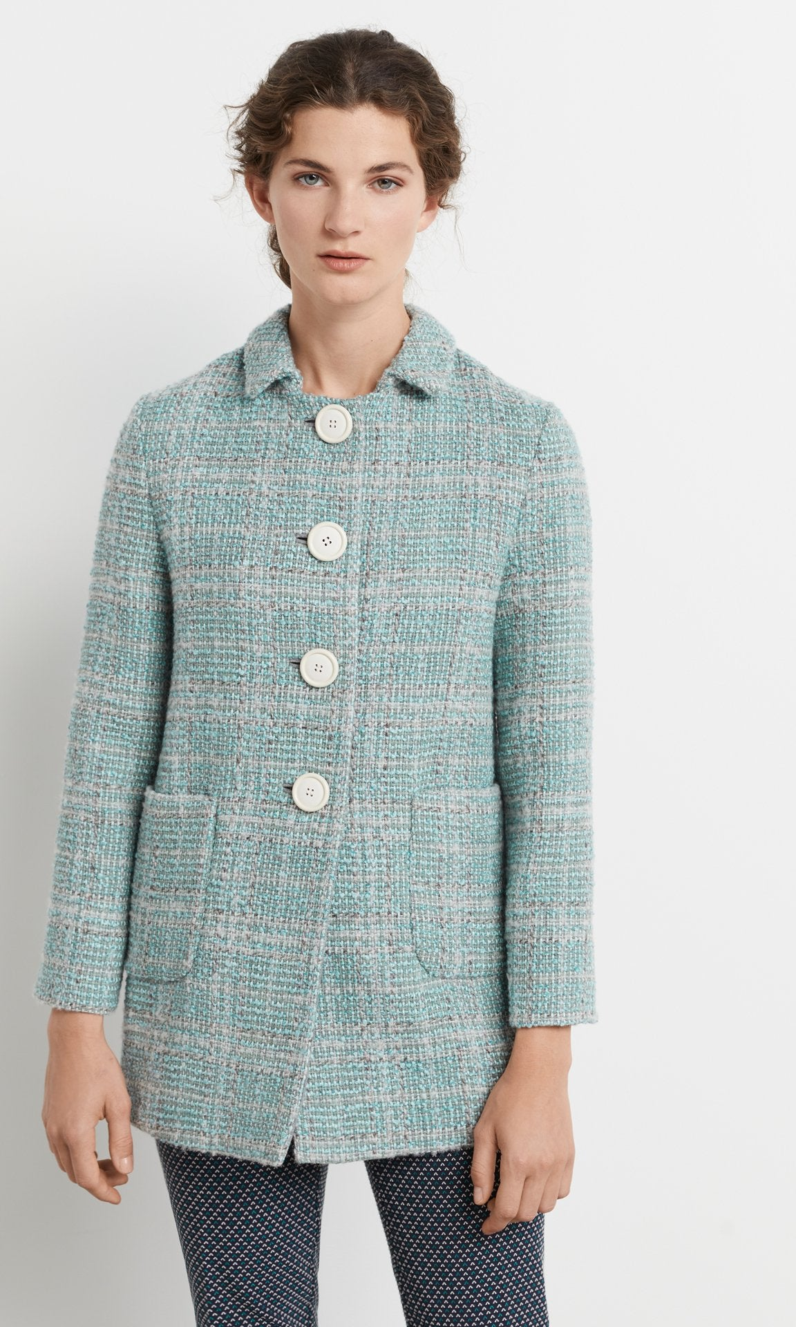 Elinor Coat Sea Mist