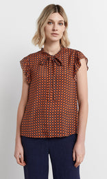 Cirella Top - Orange