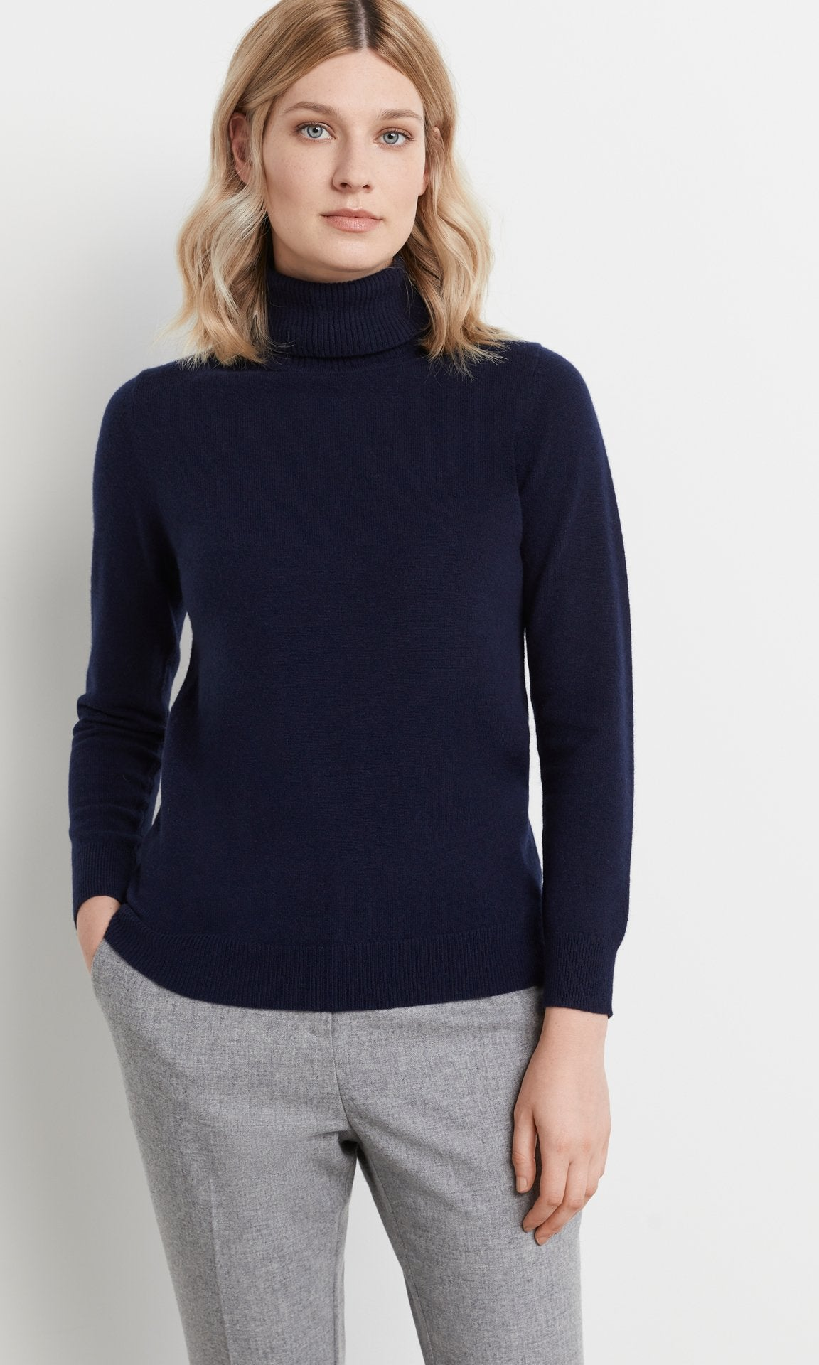 Heywood Rollneck Navy