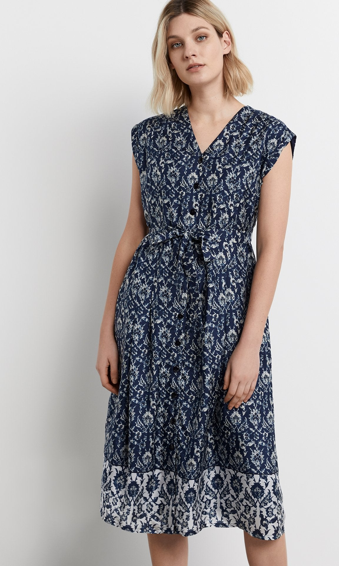 Malva Dress - Navy