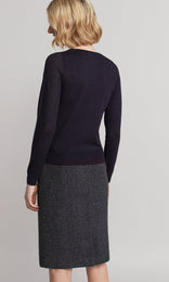 Ada Sweater - Navy