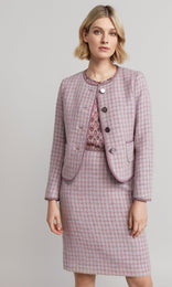 Elsa Jacket - Dusty Pink