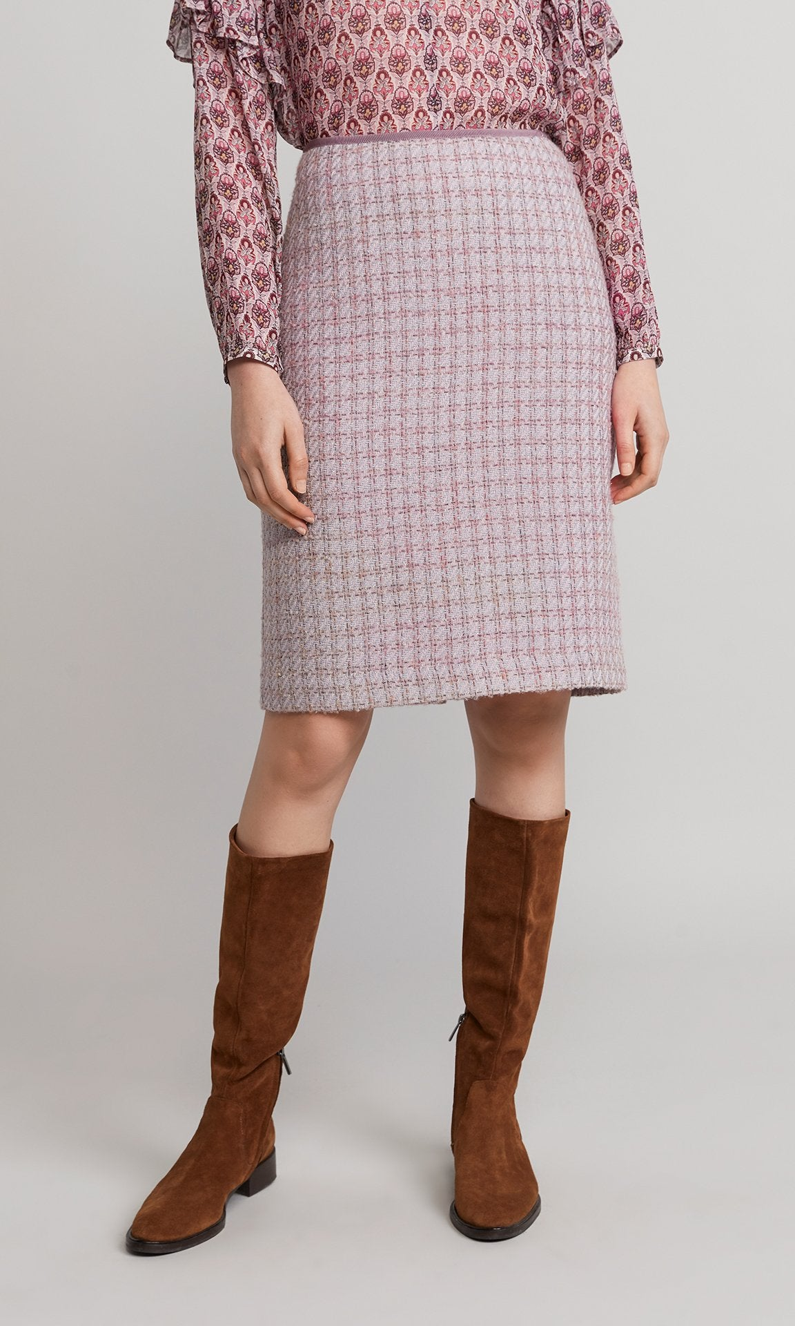 Elsa Skirt - Dusty Pink