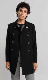 Lyon Coat - Black