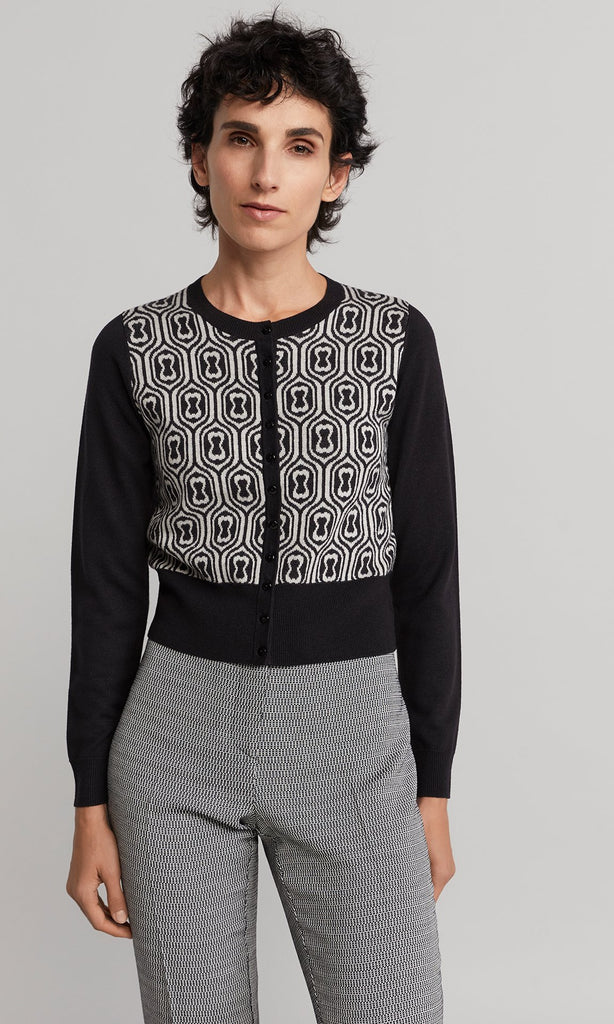 Mabel Cardigan - Black