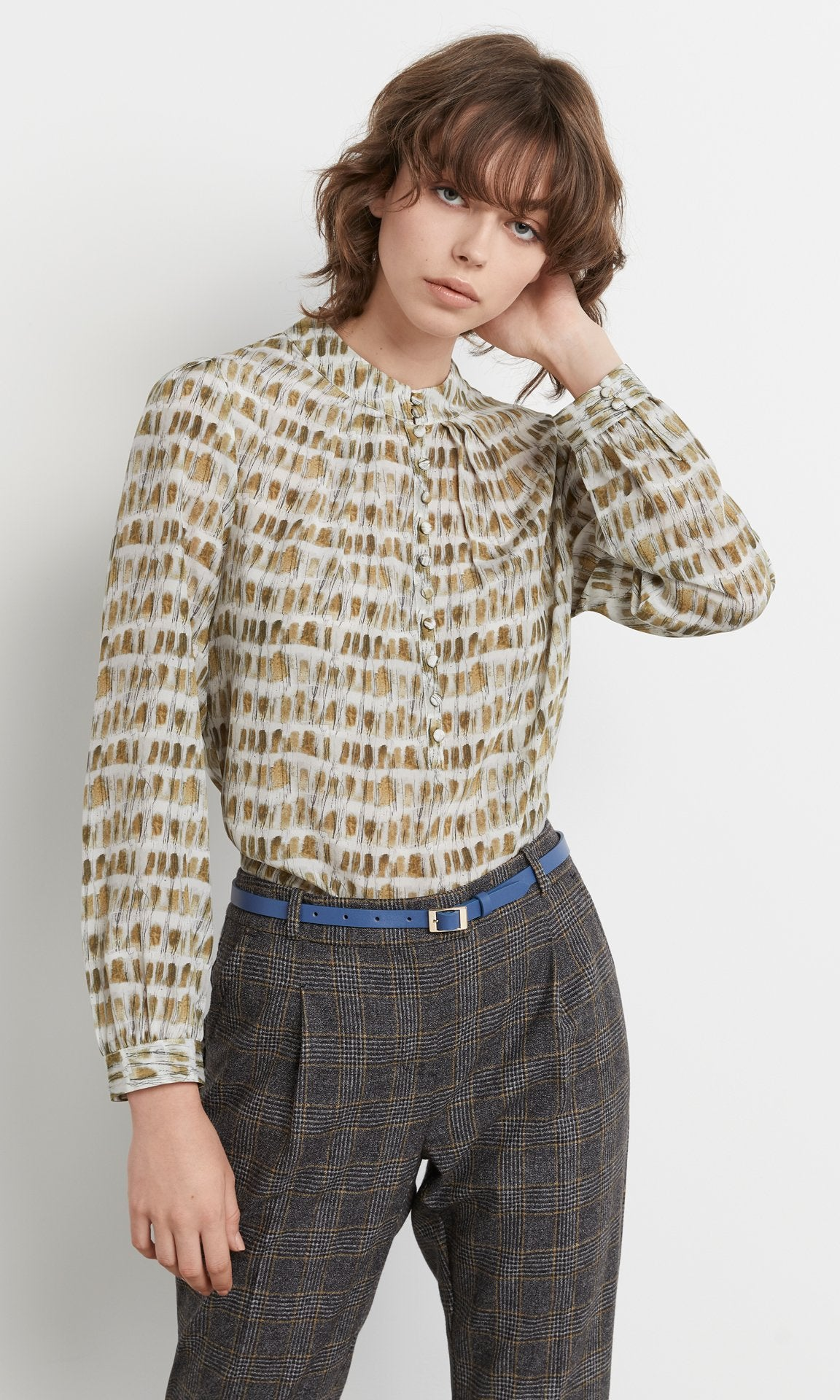 Monk Blouse Sand