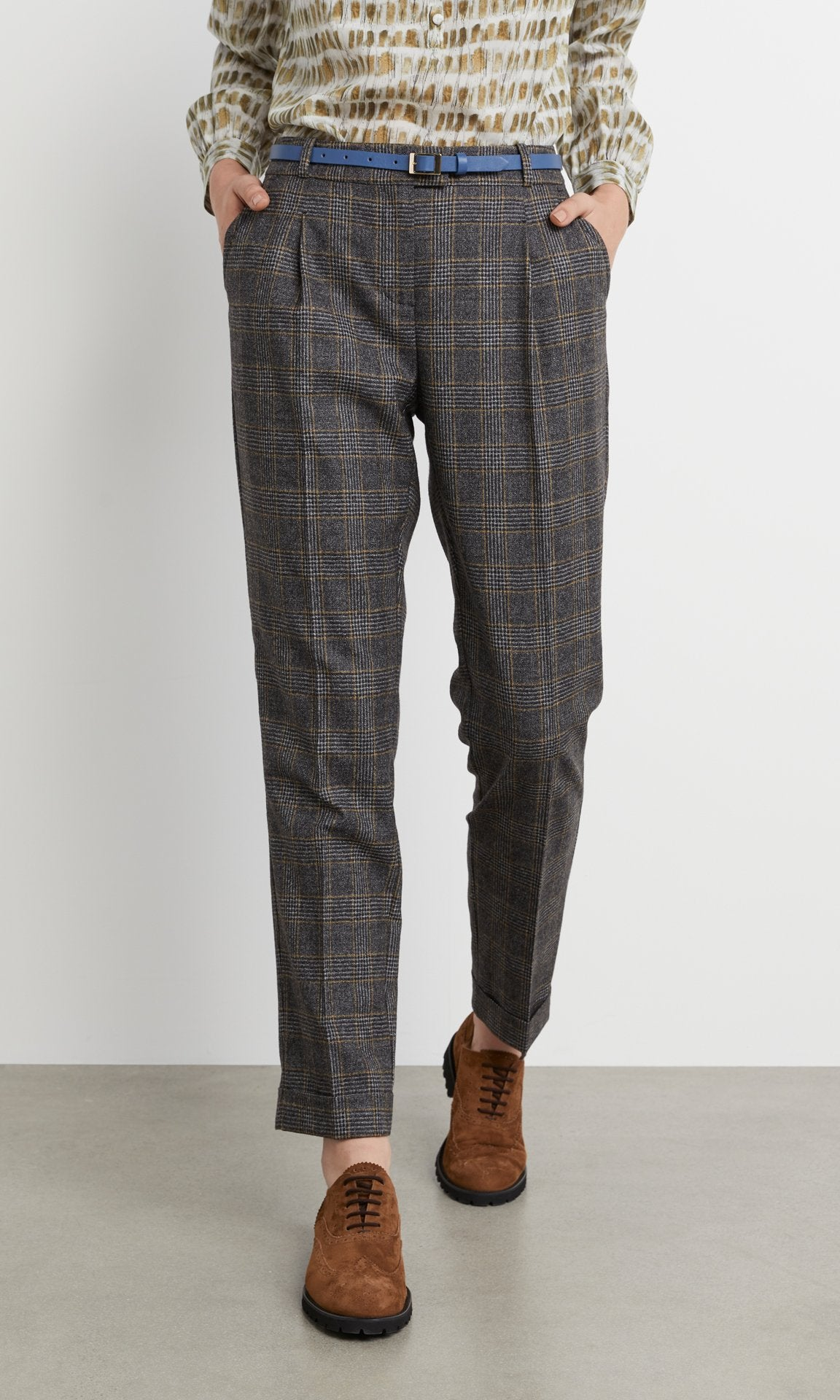 Dashwood Trouser - Black/Tan