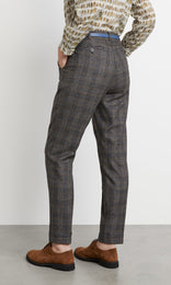 Dashwood Trouser Black/Tan
