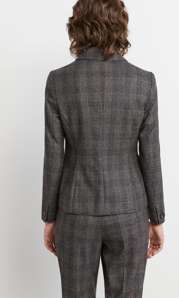 Dashwood Blazer Black/Tan