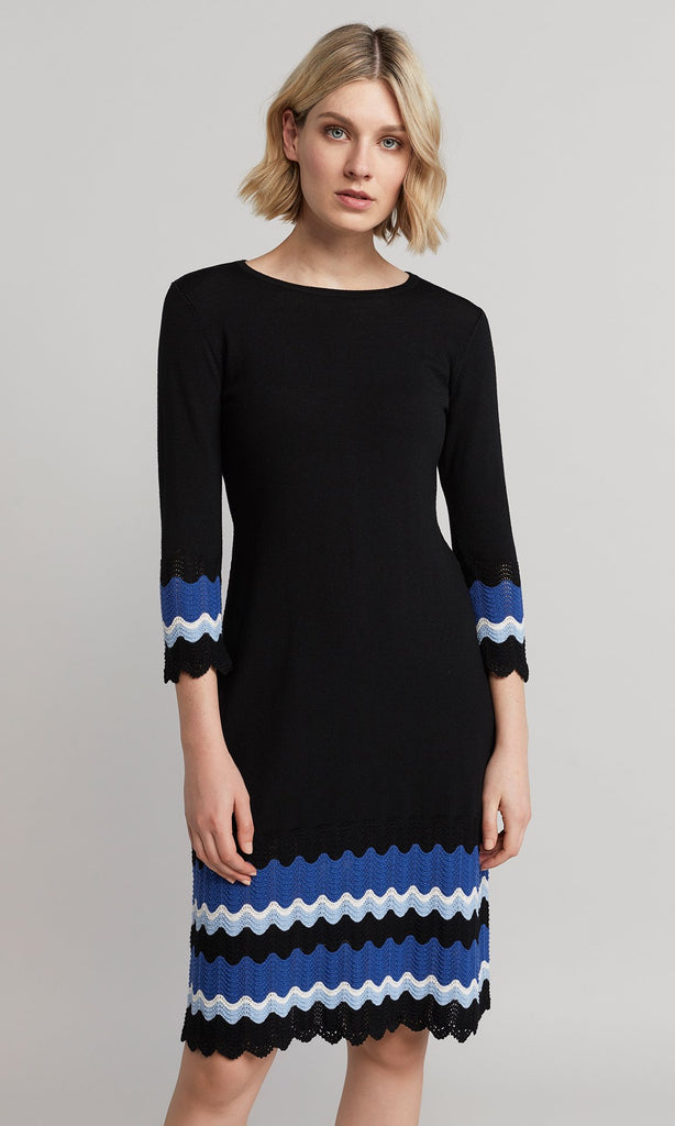 Gina Knit Dress - Black
