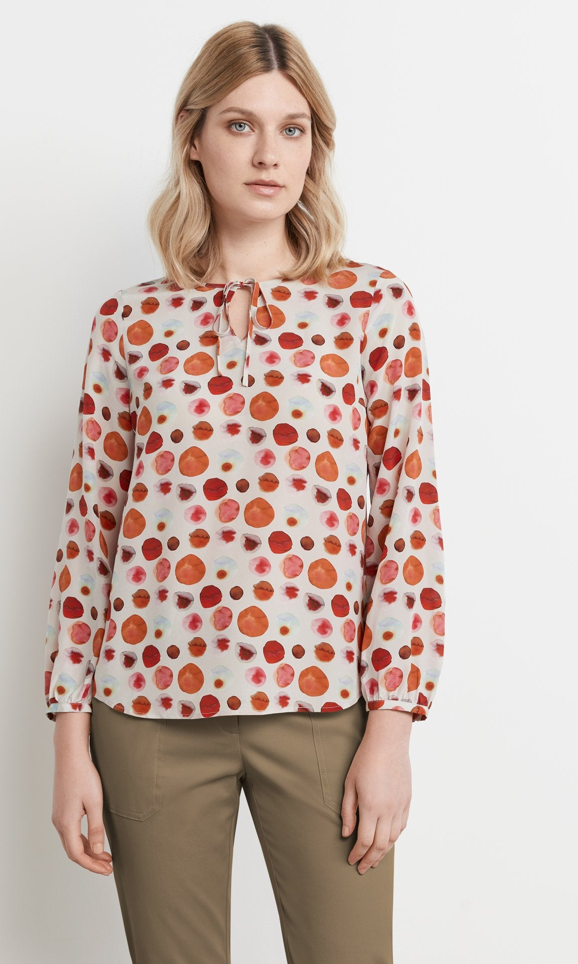 Forster Blouse Crimson